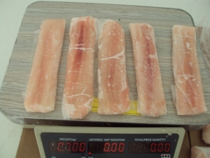frozen sole fish fillets